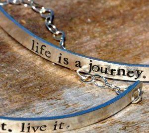 Solid Message Bracelet
