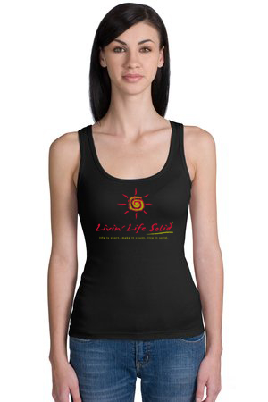 Live Life Solid Ladies Tank
